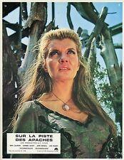 CORINNE CALVET  APACHE UPRISING 1965 VINTAGE PHOTO LOBBY CARD N°1