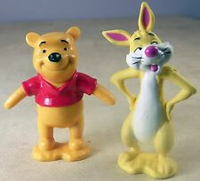 Winnie the Pooh & Friends with Rabbit Disney Action Figure Toys 3.5""