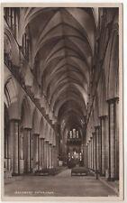 Salisbury Cathedral - Real Photo Postcard c1910