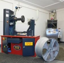 ALLOY WHEEL STRAIGHTENER  RIM STRAIGHTENING MACHINE WITH LATHE  £2750 + VAT