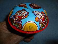 Vintage Tin Noise Maker Rattle Halloween Clowns US Metal Toy Mfg. Co.