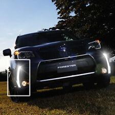 LED Daytime Running Light For Subaru Forester XT Fog Driving Lamp Car DRL 13-15