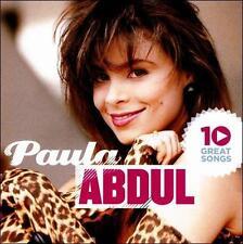 Paula Abdul 10 Great Songs CD New Factory Sealed