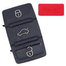HQRP 3 Botones para Carcasa de Llave Remoto de Volkswagen VW Jetta 2000-2008