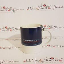 Official Formula 1 Merchandise Williams Martini Racing Mug White/Blue FREE P&P
