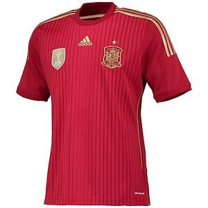 Authentic adidas Men's Spain Home Shirt 2014/ 2015