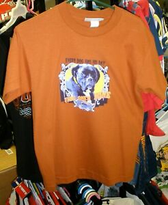 VINTAGE JR MOTORSPORTS #88 EVERY DOG HAS HIS DAY YOUTH TEE DALE EARNHARDT JR LG