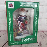 Vtg COLUMBUS BLUE JACKETS 2003 Santa BOBBLEHEAD Goalie Limited Edition /5000