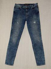 EXPRESS – Size 12 – LEGGING HIGH RISE Stretch Denim Skinny Leg Jeans – #W569