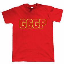 CCCP, Mens Communist Russian Retro Soviet Political T Shirt