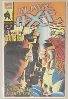 BLACK AXE ISSUE #1 THE IMMORTALITY GAMBIT MARVEL COMICS 1993