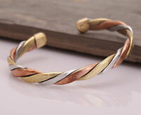 New Pure Copper Bracelet Magnetic Men And Women For The Treatment Of Tibetan