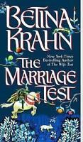 (Good)-The Marriage Test (Mass Market Paperback)-Krahn, Betina-0425196453