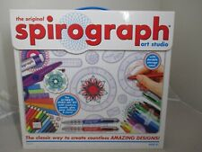 the Original Spirograph Art Studio Set Kit Open Box item 01071 Hasbro