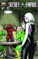 SECRET EMPIRE #5 (OF 9) UNKOWN VARIANT DEADPOOL SPIDER-GWEN MARVEL COMICS
