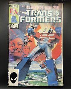 Transformers #1 Marvel Comics 1984 Low Grade 1st Print