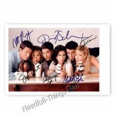 Friends Cast Autogrammfotokarte mit Allen Unterschriften Ak2 