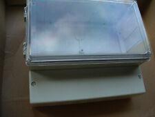 Regler - Gehäuse bopla RG 200/2000a 21x18x9,5cm mit Klarsichtdeckel