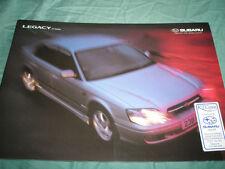Subaru Legacy 2.5 Saloon range brochure c2000