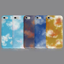 Estética nubes cielo Azul Funda de teléfono para IPHONE 7 8 XS XR SAMSUNG S8 S9 Plus
