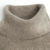 Winter Warm Cashmere Knitted Sweater Female Pullover Turtleneck Women Bottoming