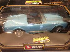 Bburago Lancia Aurelia B 24 Spider Blau1955 code-3010 m.OVP 1:18  Vitrinenmodell
