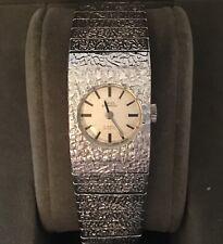 Ladies Vintage Swiss Empress Silver Plated Hand-Wind Wristwatch - Working