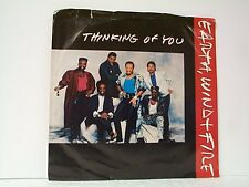 "EARTH WIND & FIRE ""THINKING OF YOU / SAME"" 45w/PS MINT PROMO"
