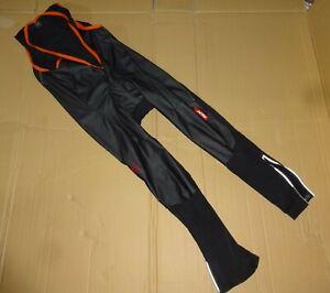 Sportful XL Rennrad Lange Hose Gr.XL Schwarz Black Bib Short Long Bike Pants