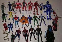SPIDERMAN,BATMAN,POWER RANGER, ACTION FIGURE TOY LOT