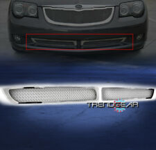 2004-2008 CHRYSLER CROSSFIRE BUMPER LOWER STAINLESS STEEL MESH GRILLE GRILL 2PCS