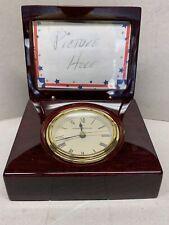 Howard Miller Picture Frame Tabletop Clock