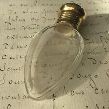 FLACON A SELS OU PARFUM XIXè Cristal Victorian SCENT BOTTLE 19thC