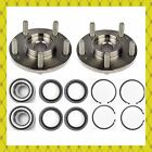 Front Wheel Hub Bearing Kits Wsnap Ring For 1995-1999 Nissan Maxima Pair
