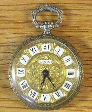 Racine Gallet & Co. Vintage 17 Jewels Swiss Open Face Size 8/0 Pocket Watch