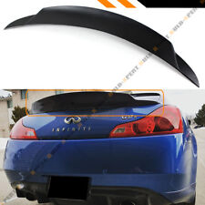 FOR 2008-2013 INFINITI G37 2 DOOR DUCKBILL JDM HIGH KICK REAR TRUNK SPOILER LID