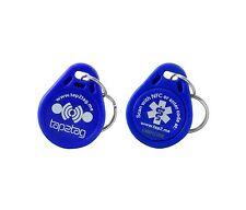 Tap2Tag Medical Blue Plastic Keyfob