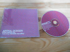 CD Indie Artful Dodger - Think about Me (1 Song) Promo LONDON sc