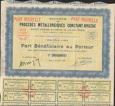 Procédés Métallurgiques CONSTANT-BRUZAC (P)