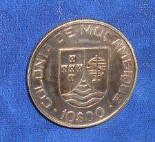 Mozambique 1936 Extremely Fine silver 10 Escudos