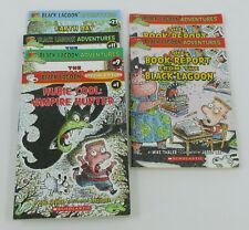 6X Black Lagoon Adventures Chapter Books  & Book Report Mike Thaler ~Free Ship
