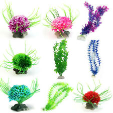 Künstliche Pflanzen Wasserpflanzen Fish Tank Aquarium Kunststoff Wasser Gras