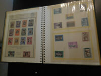 STAMPS ALBUM RARE Italy Vatican Austria LOT 100+ UNSEARCHED new mint grn album