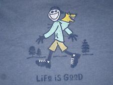 90bd8683daa MEN S LIFE IS GOOD S S HOODIE ROCKET T--SHIRT SIZE XL