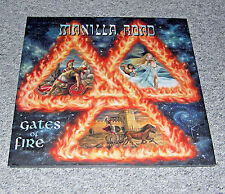 MANILLA Road-Gates of Fire (2lp, splatter VINILE, 100 copies, new & unplayed)