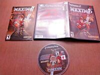 Sony PlayStation 2 PS2 CIB Complete Maximo vs Army of Zin Ships Fast