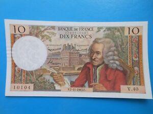 10 francs Voltaire 7-11-1963 F62/5 SPL
