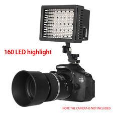 Pro 160 LED Video Light Lamp lighting /Filter For DV Camera Video Camcorder