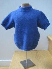 Bravo Bambino Mafrat ITALIAN ALPACA Blend Royal Blue Toddler Sweater 12 18 24 mo