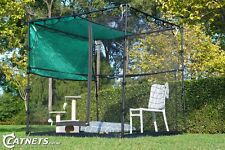 Freestanding Cat Enclosure | Stainless Steel Reinforced + FREE Accessories